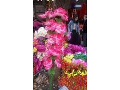 清明节各类拉花 摇钱树 仿真花-清明节祭祀用品-广福缘花厂个体经营