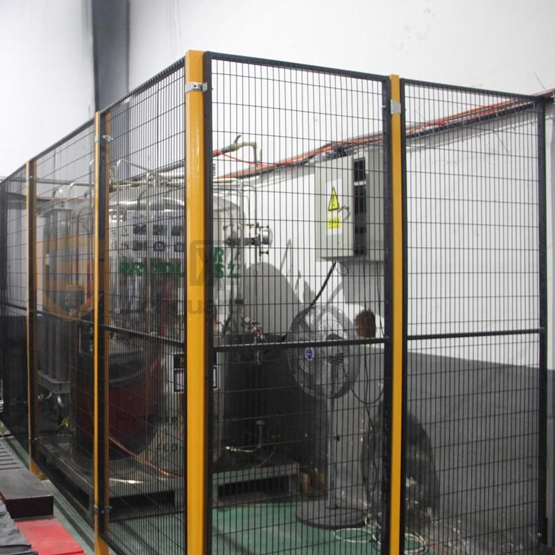 纬网机器设备护栏 机器人护栏围栏 车间安全围栏 防护栏隔离网-围栏,护栏,安全防护栏,隔离网-宁波纬诚科技股份有限公司